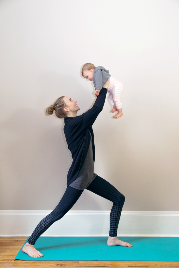 Mom And Baby Yoga In Orillia